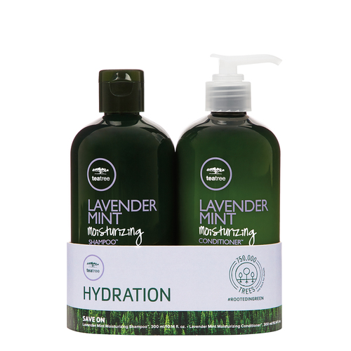 Tea Tree Hydration Lavender Mint Moisturizing Duo Set 300ml,1000ml